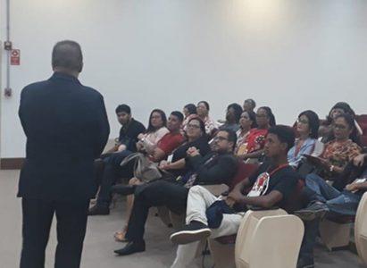 "Alunos do curso de Direito da Faculdade Batista Brasileira (FBB) participam do Programa ""Conhecendo o Ministério Público"""