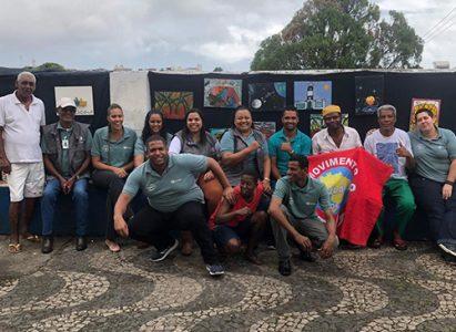 Faculdade Batista Brasileira marcou presença na Feira Pop Rua, ação de prevenção à saúde voltada para moradores de rua