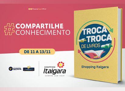 Faculdade Batista Brasileira promove 1ᵃ Feira de Troca Troca de Livros para incentivo e acesso à leitura, evento é aberto ao público
