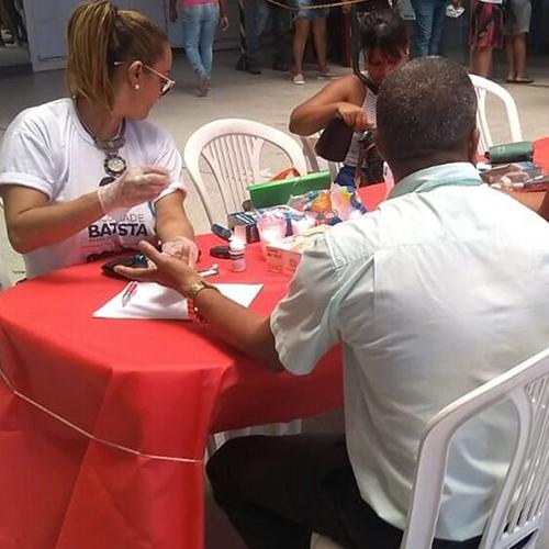 Faculdade Batista Brasileira promovem ações de sensibilização e promoção da saúde para público masculino