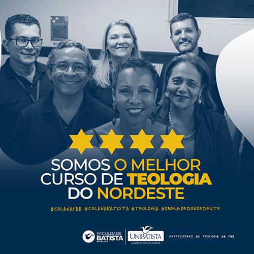 MEC divulga resultado do Exame Nacional de Desempenho de Estudante (ENADE) e Curso de Teologia da Faculdade Batista Brasileira é o melhor do Nordeste