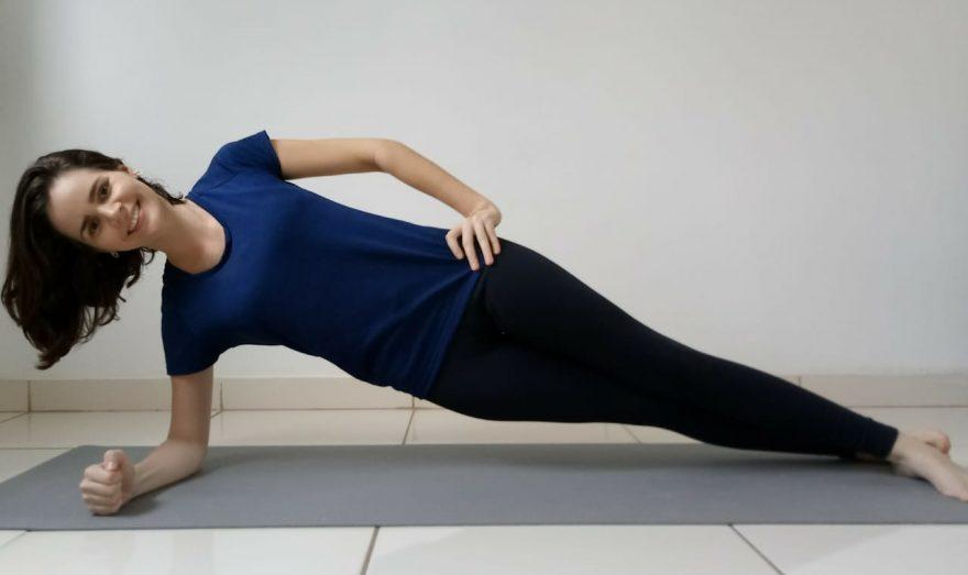 Fisioterapeuta e professora de Pilates Ingrid Lima participa do Programa Movimente-se da FBB