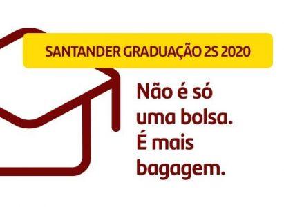 Estão abertas as inscrições do Programa de Bolsas Santander Graduação 2S 2020 para Faculdade Batista Brasileira