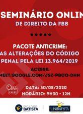 SEMINÁRIO DE DIREITO – PAINEL JURÍDICO