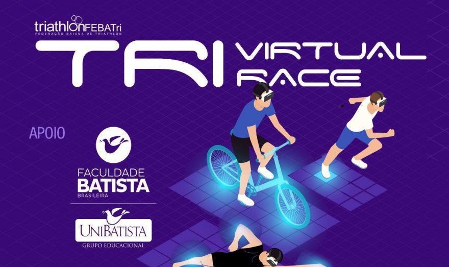 Triathlon Virtual RACE – Faculdade Batista Brasileira apoia prova virtual de triathlon