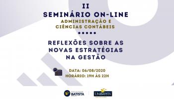 II Seminário de Administração e Ciências Contábeis (On-line)