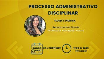 Curso de Processo Administrativo Disciplinar – Teoria e Prática