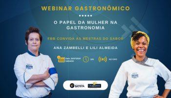 Webinar : O Papel da Mulher na Gastronomia