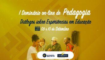 I Seminário de Pedagogia