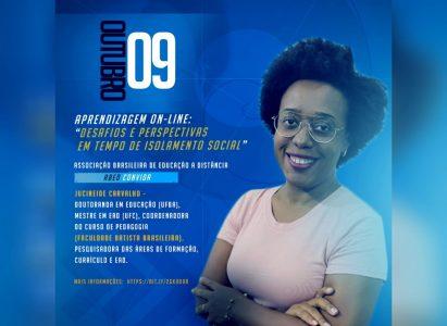 Faculdade Batista Brasileira participa de webinar da ABED – Associação Brasileira de Educação a Distância, sobre Aprendizagem on-line: desafios e perspectivas em tempo de isolamento social