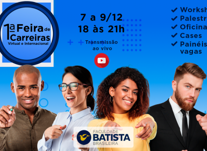 Faculdade Batista Brasileira promove evento gratuito de qualificação profissional
