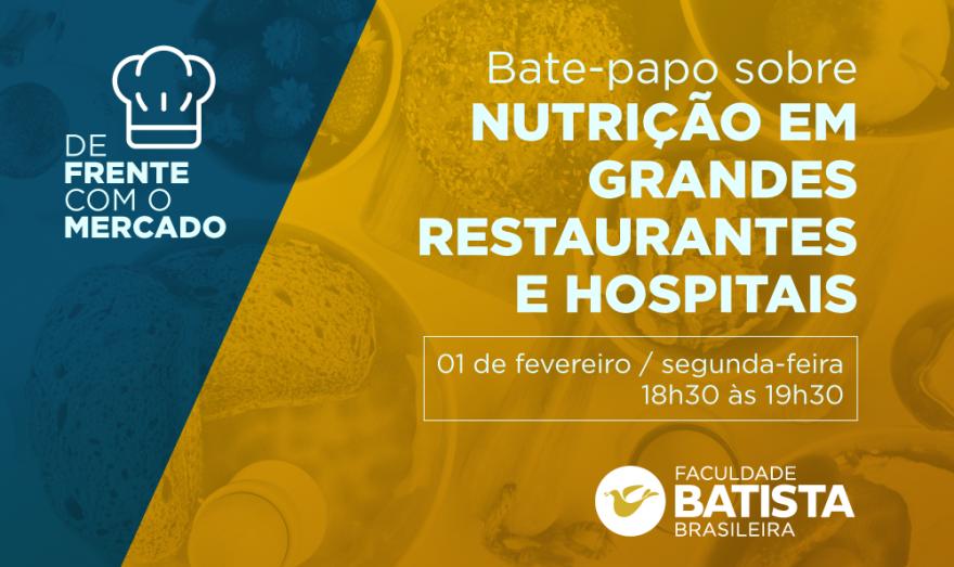 Produção de alimentos ou nutrição clínica: qual a melhor área para atuar? No De Frente Com o Mercado, você terá a oportunidade de entender