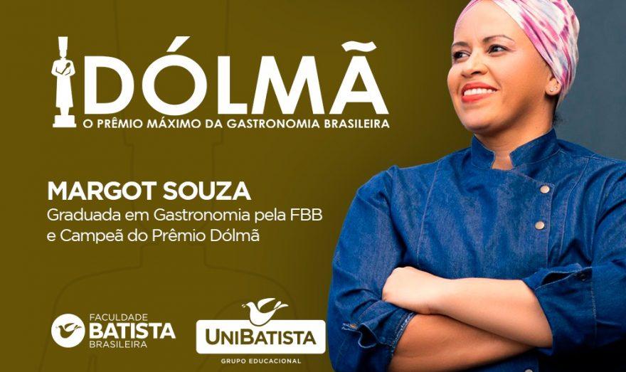 Chef Margot Souza ganha Prêmio Dólmã, Oscar da Gastronomia Brasileira