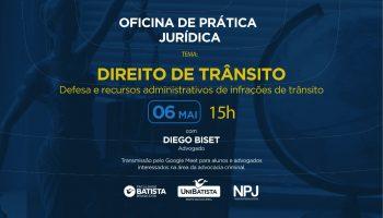 Oficina de Prática Jurídica – Direito de Trânsito