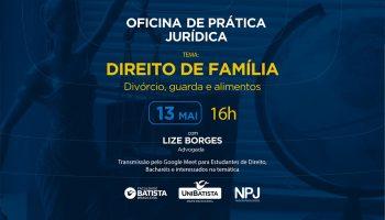 Oficina de Prática Jurídica – Direito de Família