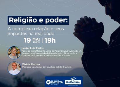 RELIGIÃO E PODER: A COMPLEXA RELAÇÃO E SEUS IMPACTOS NA REALIDADE