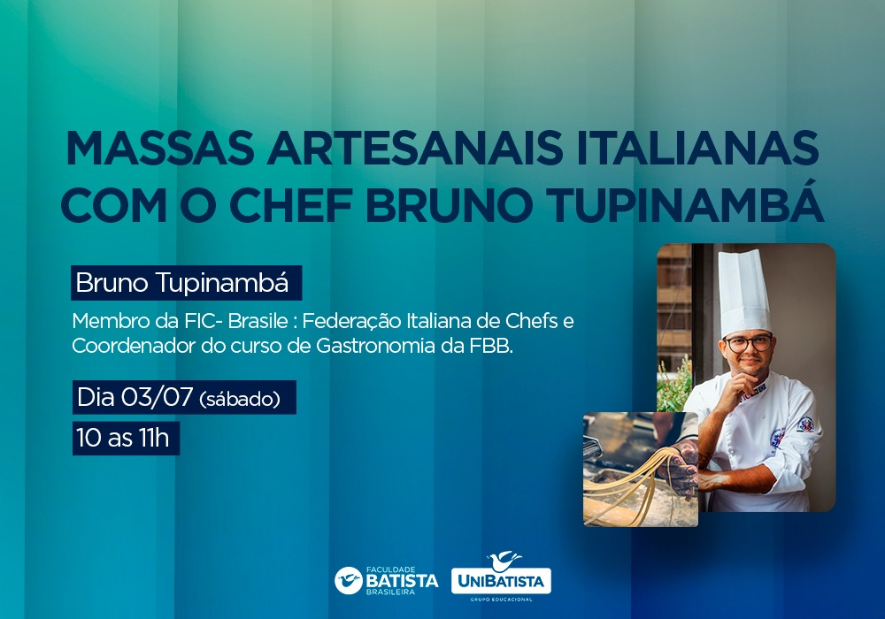 Workshop – Massas Artesanais Italianas
